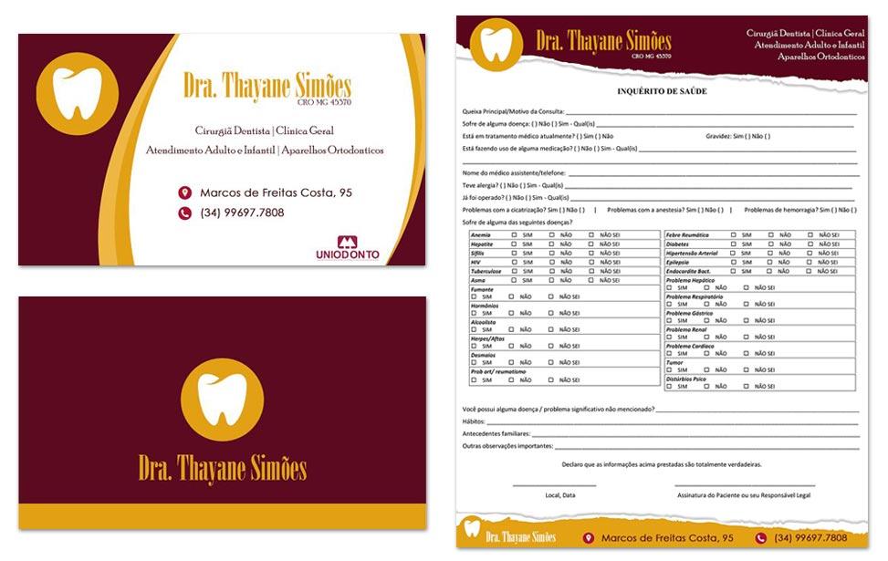 Identidade Visual - Dra. Thayane Simões