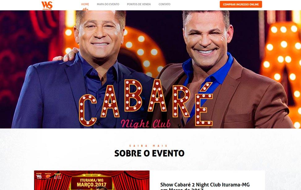 Show Cabaré em Iturama