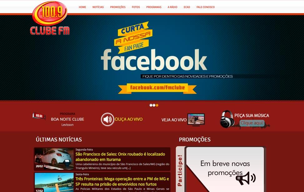 Rádio Fm Clube 100,9